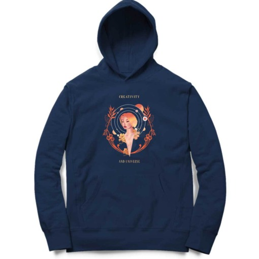 Creativity And Universe Graphic Hoodie 2